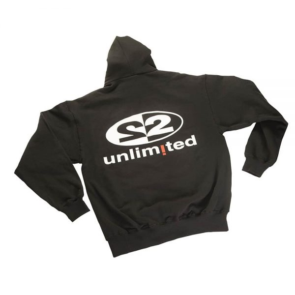 2 Unlimited Hoodie black back