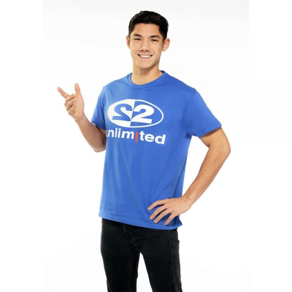 2 Unlimited T-shirt Blue M-1