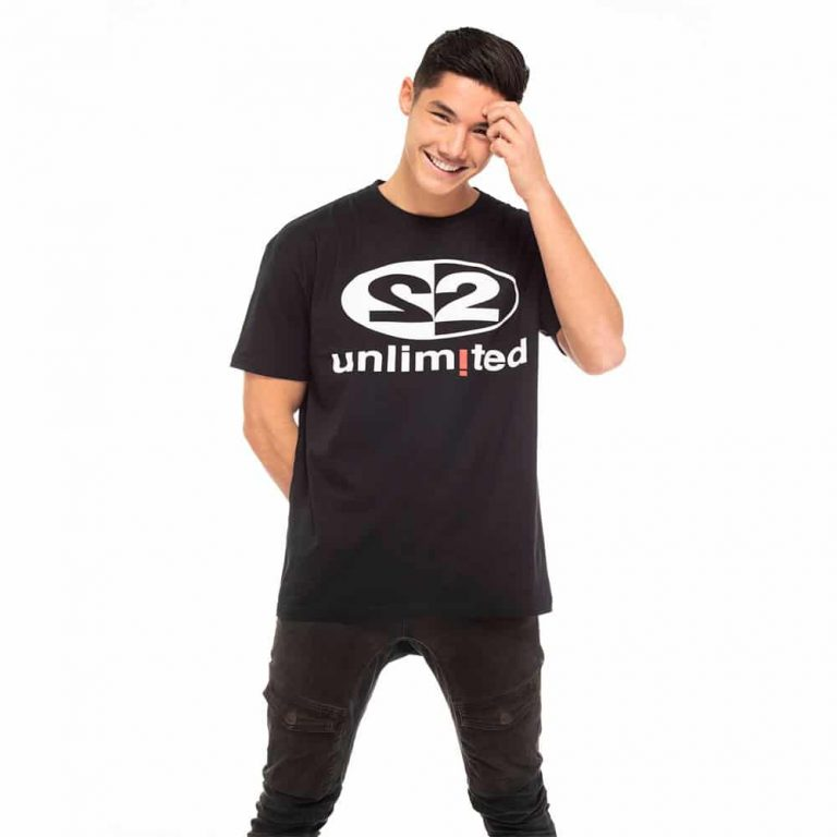 2 Unlimited T-shirt M Black