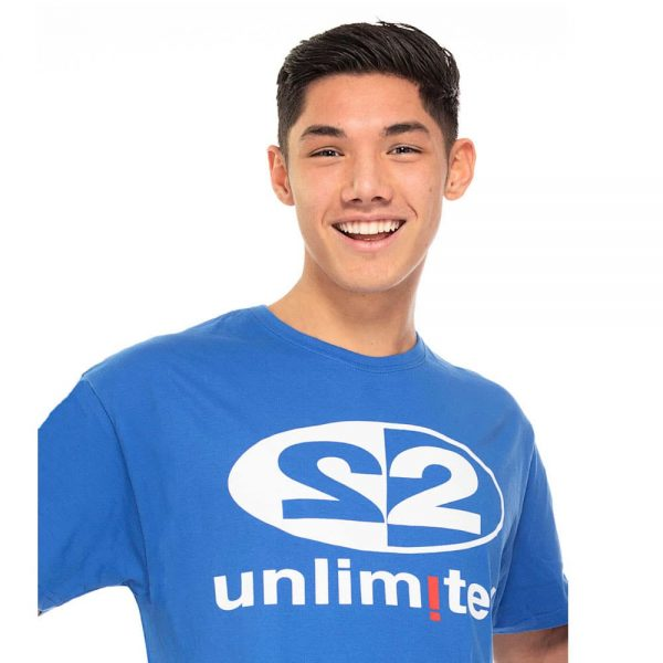 2 Unlimited T-shirt M blue