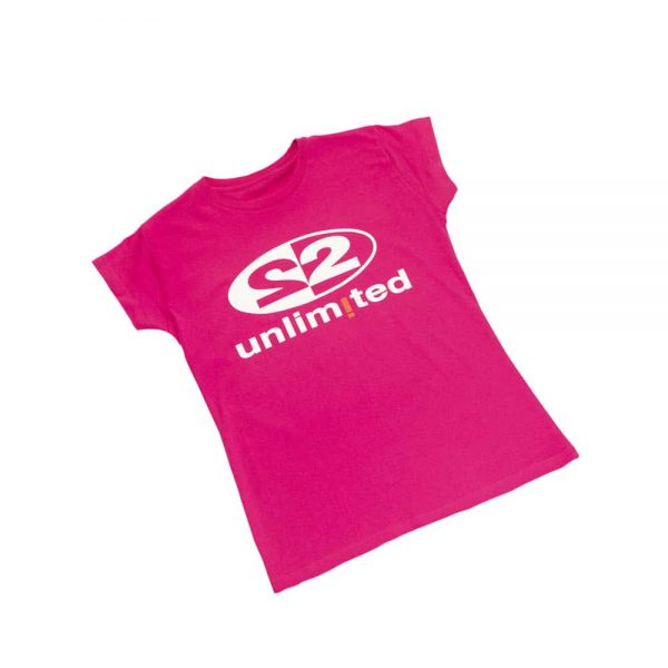 2 Unlimited T-shirt Pink