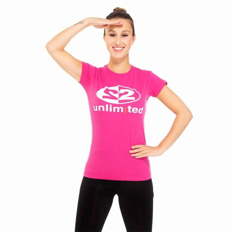 2 Unlimited T-shirt Pink W