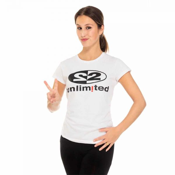 2 Unlimited T-shirt White W
