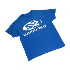 2 Unlimited T-shirt blue