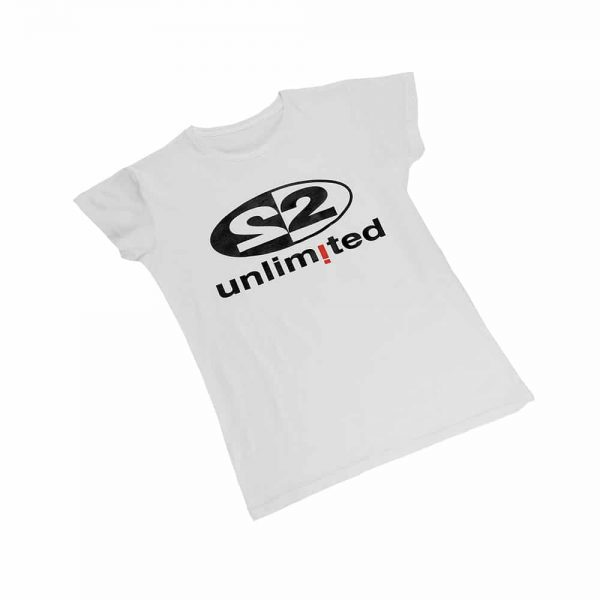 2 Unlimited T-shirt white