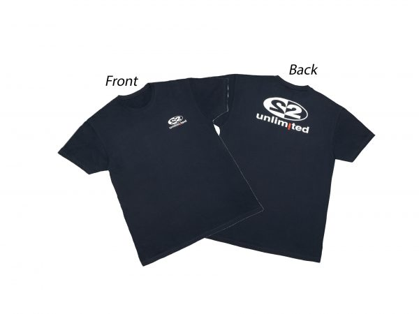 2Unlimited T-shirt Navy Men 1